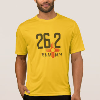 RUN RM 26.2 Zia symbol running shirt