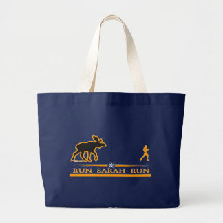 Run Sarah Run! Jumbo Tote Bag