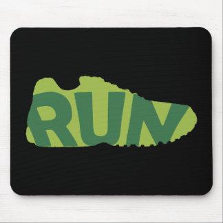 Run Shoe Mouse Pad
