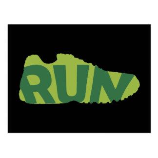 Run Shoe Postcards