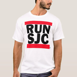 RUN SJC wht tee