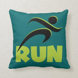 RUN Spring Green Cushion