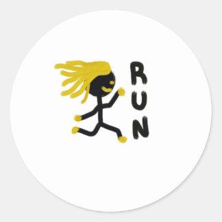 Run Stickers