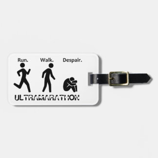 Run Walk Despair Luggage Tag