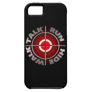 Run walk talk hide. iPhone 5 covers