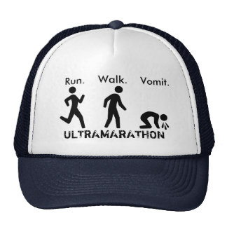 Run. Walk. Vomit Trucker Hat