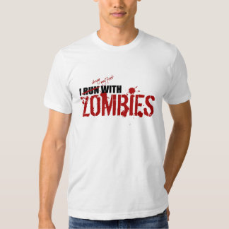 RUN WITH ZOMBIES - t-shirt