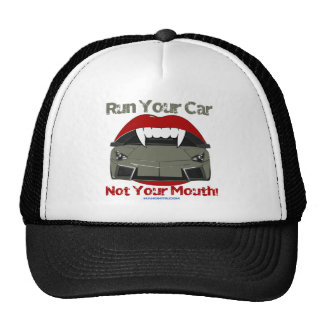 Run Your Car, Not Your Mouth cod. L-Reveton Cap