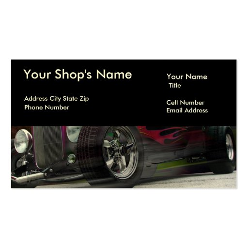 Runaway Double-Sided Standard Business Cards (Pack Of 100)