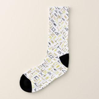 Runes Socks