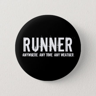Runner 6 Cm Round Badge