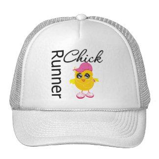 Runner Chick Trucker Hat