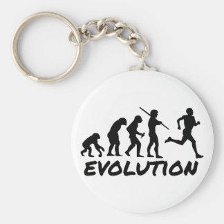 Runner Evolution Key Chain