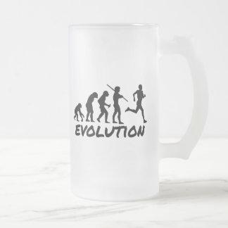 Runner Evolution Coffee Mugs