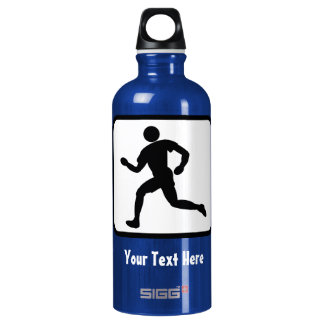 Runner Logo -- Customizable Water Bottle
