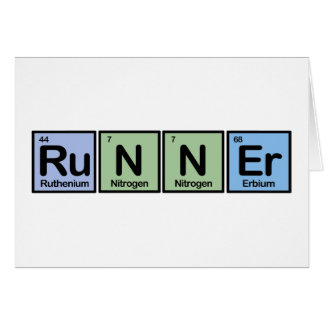 Runner made of Elements Cards