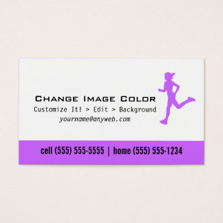 Runner - Personal Business Card