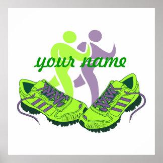 Runner Personalised Poster