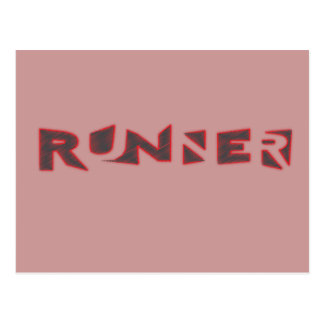 Runner Postcard