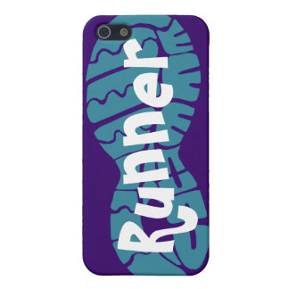 Runner shoe print iPhone 5 case