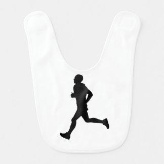Runner Silhouette Bib