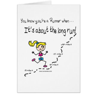Runner's Encouragement Card