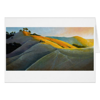 Runners on Poly Canyon Card