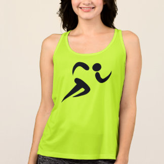 Runners Racers New Balance Workout  Tank Top