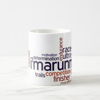 Runner's Words Coffee Mug