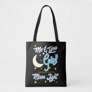 Runnin' Outta Moonlight Tote Bag