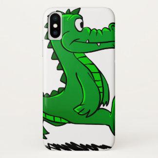 Running alligator iPhone x case