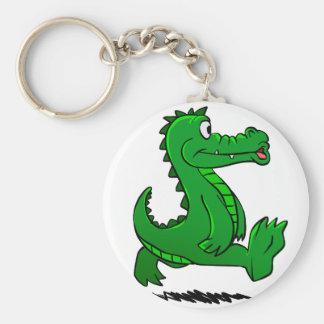 Running alligator key ring