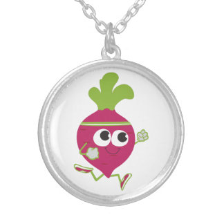 Running Beet Necklace
