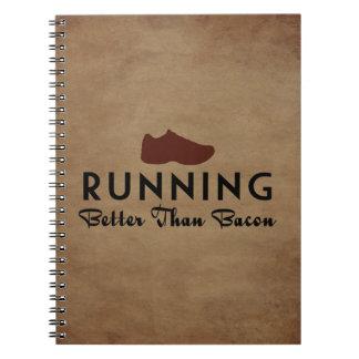 Running Better Than Bacon Notebook