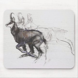 Running Chamois Mouse Pad