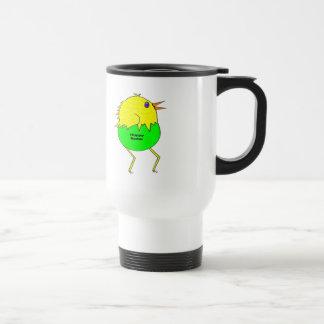 Running Chicken Stainless Steel Travel Mug