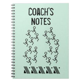 Running Coach Spiral Notebook