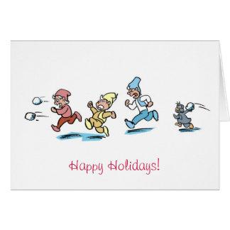 Running elf card