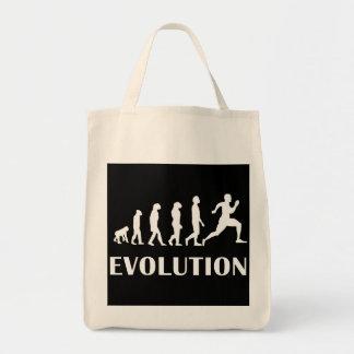 Running Evolution Tote Bag