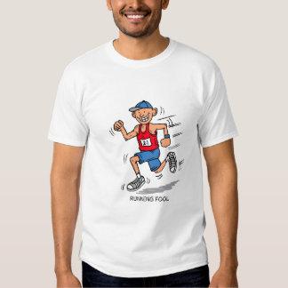 running fool tee shirts