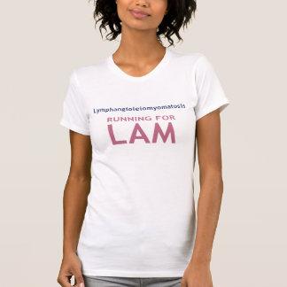 Running for LAM - Women's Athletic T-Shirt