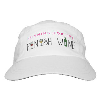 Running for the Finish Wine Hat