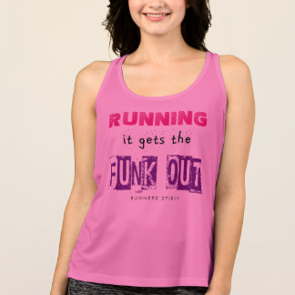 Running Gets the Funk Out - All Sport Singlet