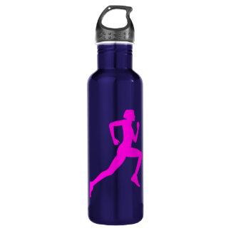 Running girl 710 ml water bottle