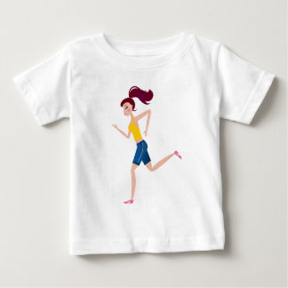 Running girl edition baby T-Shirt