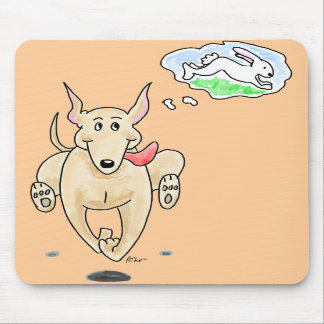 Running Greyhound Mousepad