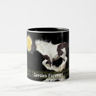 Running Gypsy Vanner & Moon Horse-lover's Mug