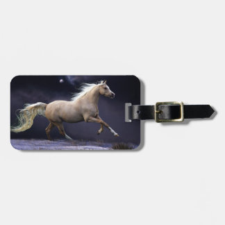 Running Horse Bag Tag