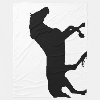 Running Horse Fleece Blanket
