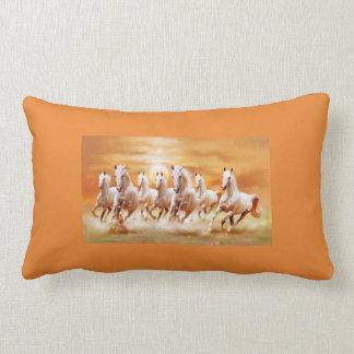 Running horse pillow